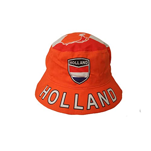 a7d197ea5e3 Holland Netherlands Country Flag BUCKET HAT Cap.. ADULT SIZE ..New