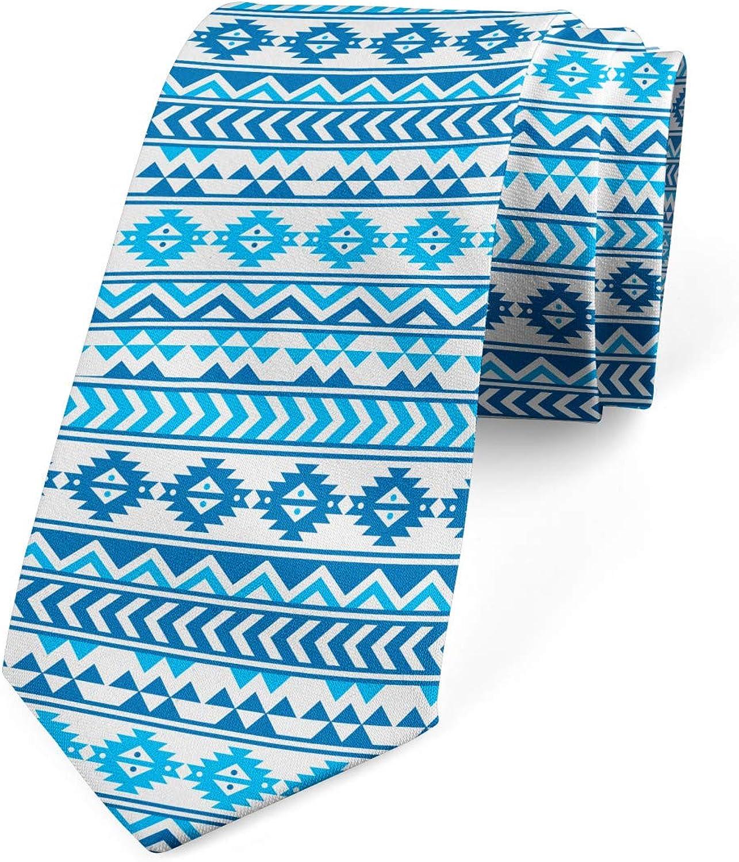 Ambesonne Necktie, Folk Cultural Forms, 3.7