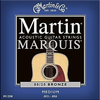 MARTIN M1200 MARQUIS BRONZE 80/20 MEDIUM 13-56 Strings Folk guitar strings