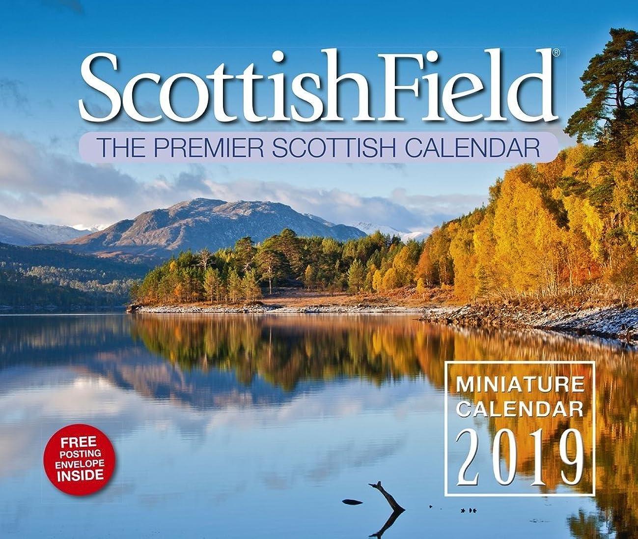 ぬるいしてはいけません出身地Scottish Field Miniature Calendar 2019