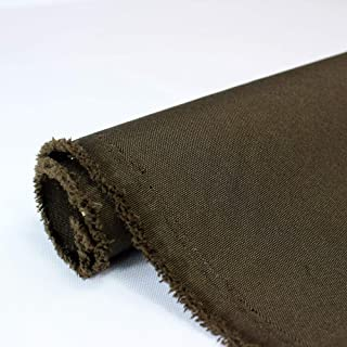 Waterproof Canvas Fabric Outdoor 600 Denier Indoor/Outdoor Fabric by The Yard PU Backing W/R, UV, 2times Good PU Color : Chocolate 1 Yard