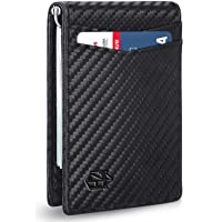 Zitahli RFID-Blocking Slim Front Pocket Wallet