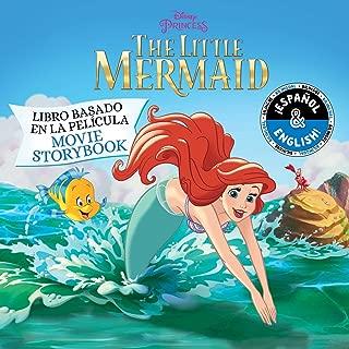 Disney The Little Mermaid: Movie Storybook / Libro basado en la película (English-Spanish) (13) (Disney Bilingual)