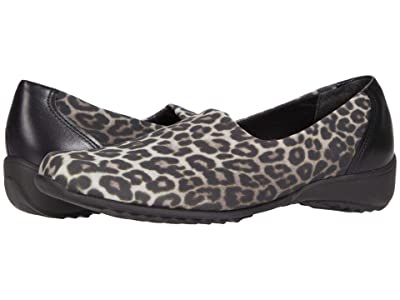 Munro Traveler (Leopard Stretch Fabric) Women