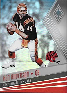 Football NFL 2017 Panini Phoenix #83 Ken Anderson #83 NM+ Bengals