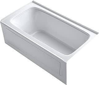 KOHLER K-1150-RA-0 Bancroft 5-Foot Bath with Right-Hand Drain, White