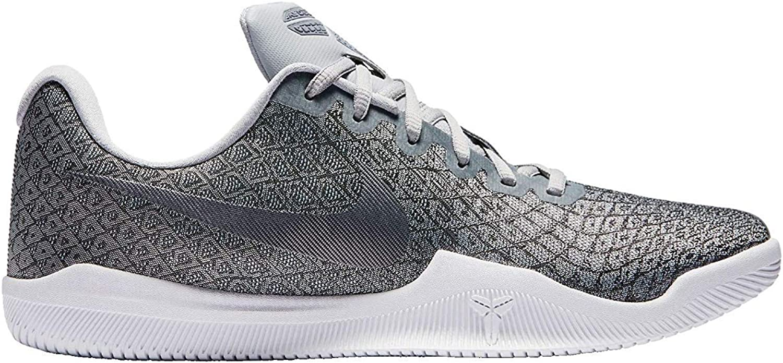 Nike Men's Kobe Mamba Instinct Basketball shoes (14, Grey White-M)