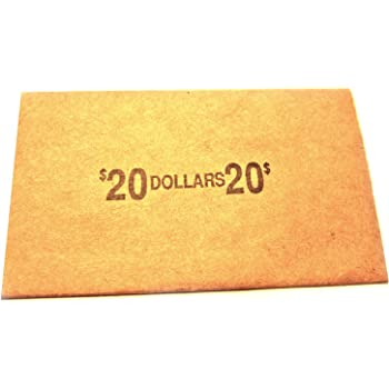 HALF DOLLAR PAPER WRAPPERS 50 CT.
