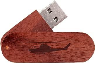 16GB USB Flash Drive Mahogany - Choose Your Design