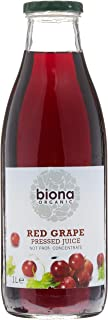 Biona Organic Red Grape Juice, 1L
