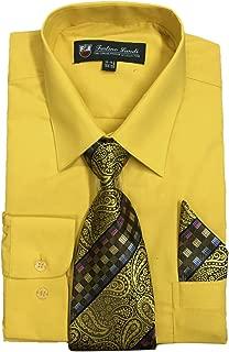 Best gold color dress shirt Reviews