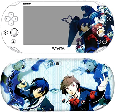 $24 Get Premium Skin Decals Stickers For PlayStation VITA Slim 2nd Generation PCH-2000 Series Consoles Korea Made - POP SKIN Persona #07 + Free Gift Screen Protector Film + Wallpaper Screen Image