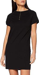 Mexx Short Sleeve Black Dress Vestido para Mujer