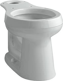 Kohler K-4347-95 Cimarron Comfort Height Round Front Toilet Bowl, Ice Gray