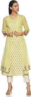 BIBA Women's cotton achkan Kurta