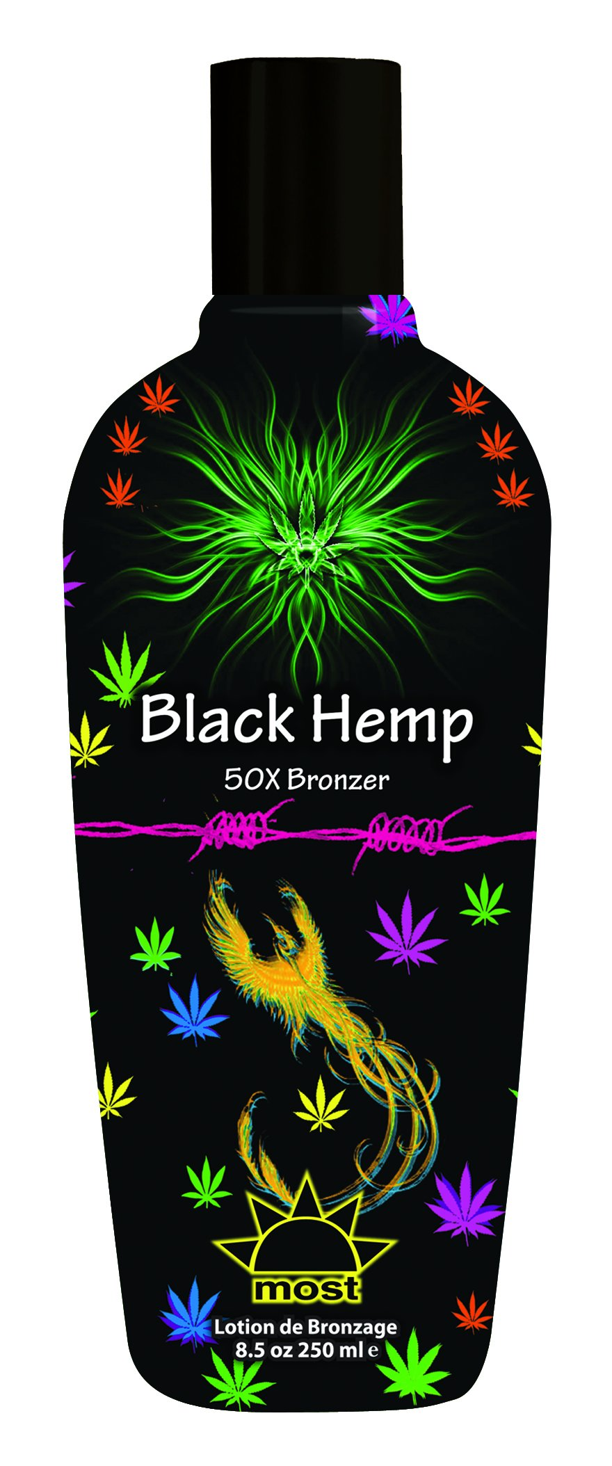 Black Hemp Bronzer Tanning Lotion