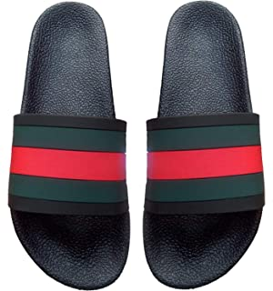 3G Tech Solution Green and Red Slipper