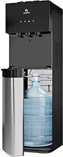 Avalon A4BLWTRCLR water dispenser, 3 or 5 gallon bottle, Stainless Steel & Black