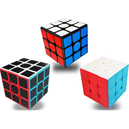 Speed Cube Set,3x3 Magic Cube Puzzle Toy,Easy Turning and Smooth Play Durable Puzzle Cube Toy for Kids