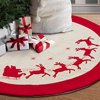 Best rustic burlap christmas tree skirt Reviews