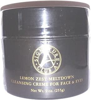 Signature Club A Lemon Zest Meltdown Cleansing Creme For Face & Eyes 9 oz.
