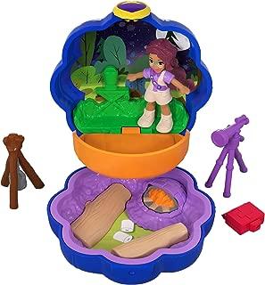 Polly Pocket Tiny Pocket Places Camping Compact! Shani Doll