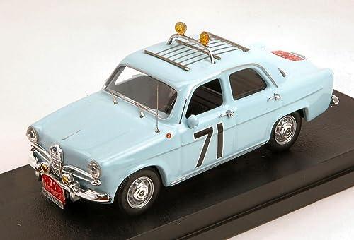 de moda Rio RI4507 Alfa Romeo Giulietta TI TI TI N.71 Monte Carlo 1960 LOFFLER-Johansson 1 43 Compatible con  precios razonables