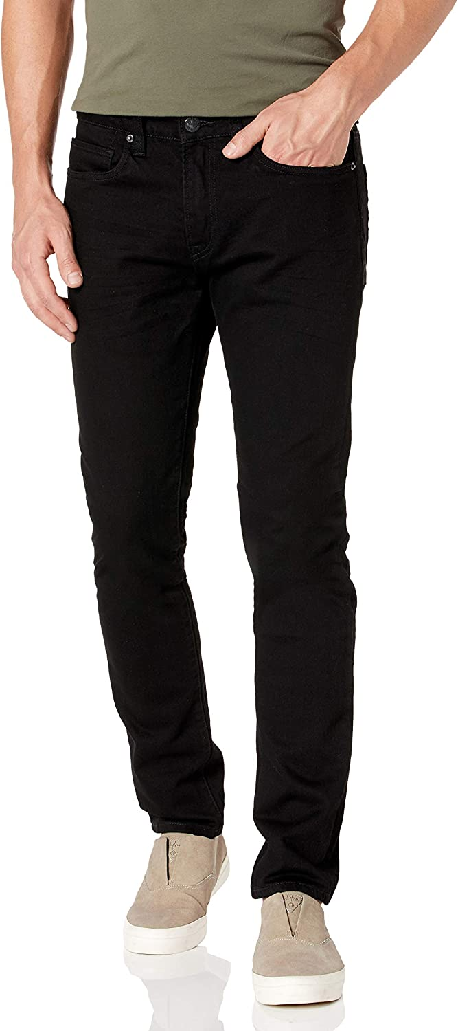 Cheap mail order shopping Buffalo David Bitton Men's Max-x Skinny Dark and Cheap mail order shopping Was Fit Marbled