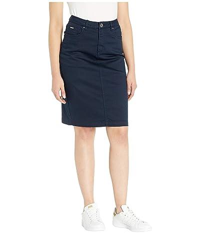 FDJ French Dressing Jeans Soft Hues Denim Skirt in Navy (Navy) Women