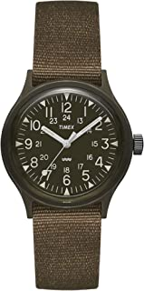Men's Camper MK1 36MM Fabric Strap Archive Watch TW2P88400 (Green)