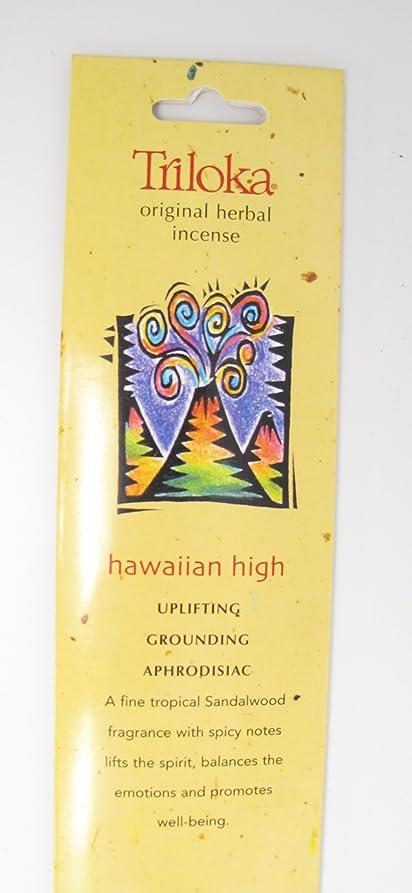 ディスパッチ降下適切なTriloka - オリジナル ハーブ香ハワイアン高 - 10棒