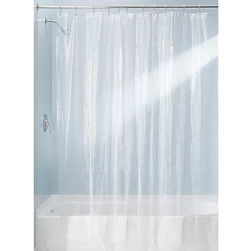 InterDesign 180 x 200 cm Rain Shower Curtain, Clear