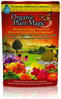 Plant Magic Premium All Purpose Organic Fertilizer Soluble Plant Food Concentrate for All Indoor & Outdoor Flower Vegetabl...