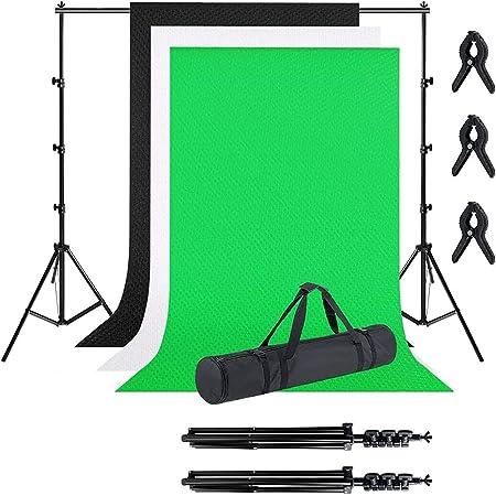 Neewer Foto Studio 2 6x3m Hintergrundstativ Kamera