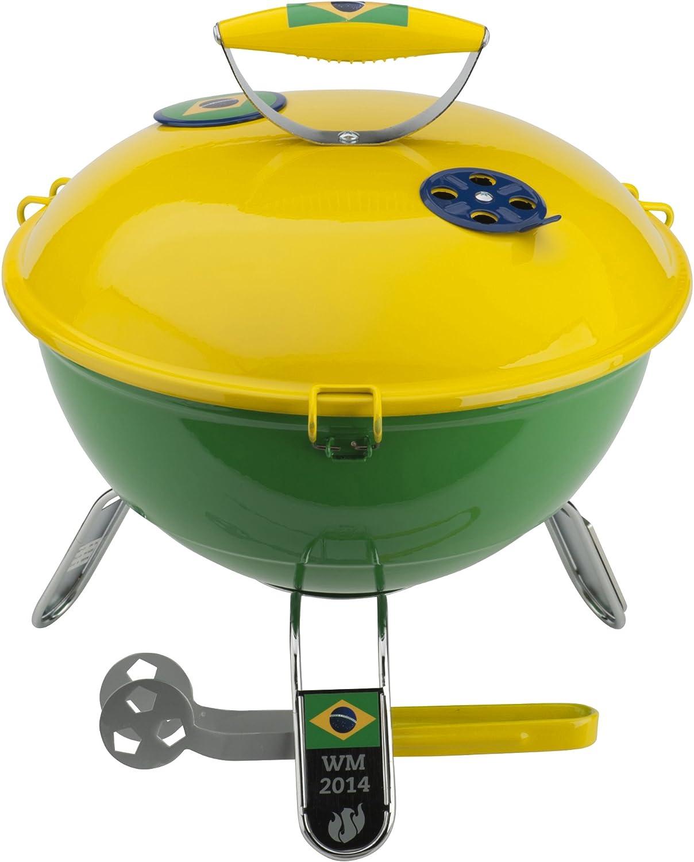Landmann 31380 - Barbacoa de picnic, color grün/gelb