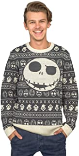 Jack Sally The Nightmare Before Christmas Adult Ugly Sweater