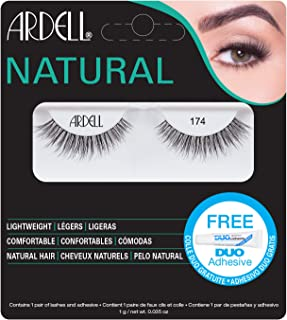 Ardell Lashes Natural 174 with Free DUO Glue