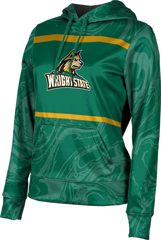 ProSphere Wright State University Girls' Pullover Hoodie, School Spirit Sweatshirt (Ripple)