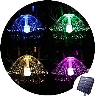 Oycbuzo Solar Hanging Tree Lamps Jellyfish Light Solar Garden Lights Color Changing LED Lantern Lights Pathway Landscape Lights for Garden/Yard/Patio/Window