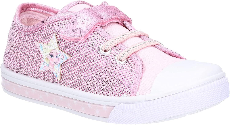 Leomil ラッピング無料 Girls Frozen Sneaker Fastening 商品 Touch