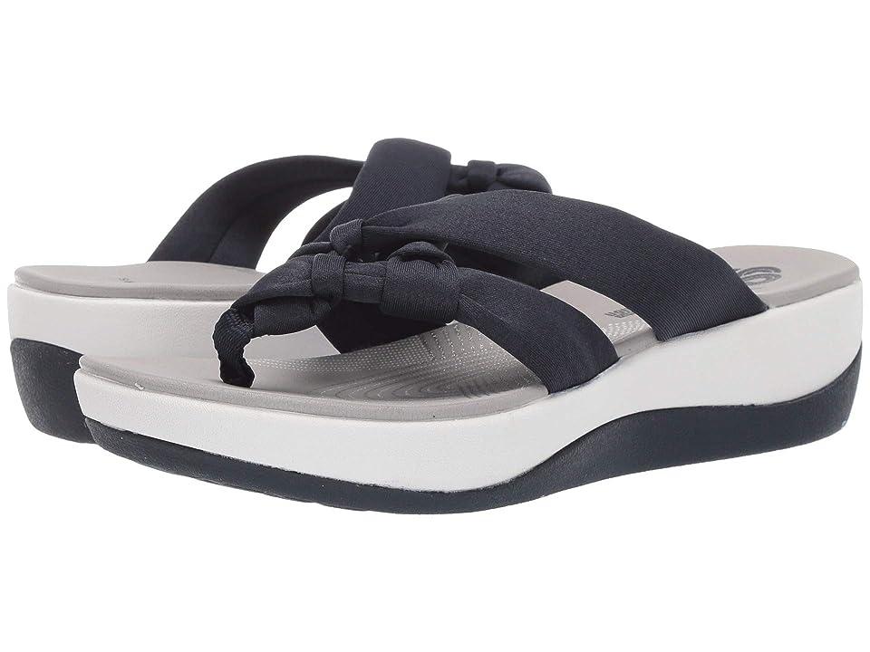 f861ea3dbaba Clarks Arla Jane (Navy Heather Textile) Women s Sandals