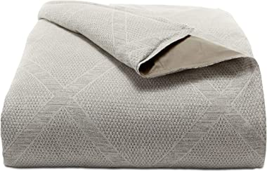 Hotel Collection Pebble Diamond Full/Queen Comforter