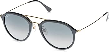 Ray-Ban Highstreet Pilot Grey Gradient Sunglasses