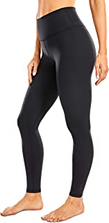 CRZ YOGA Women's High Waisted Full-Length Yoga Leggings Naked Feeling Soft Workout Tights Running Pants -28 Inches