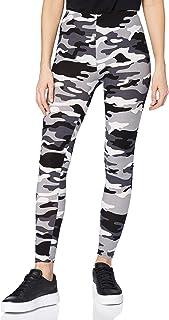 Urban Classics Camo Leggings, Mallas de Camuflaje para mujer, tanto para Vestir o como para Hacer Deporte, Mallas para Yog...