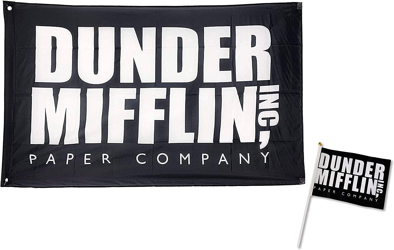 Cool TV Props - Dunder Mifflin Flag (5.5