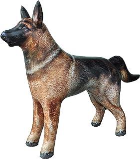 Jet Creations an-Shepherd German Shepherd Dog K9 Police Dog Inflatable Air Stuffed Animal Size 41 inch