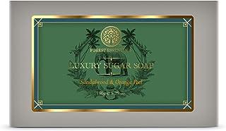 Forest Essentials Luxury Sugar Soap Sandalwood & Orange Peel 150g