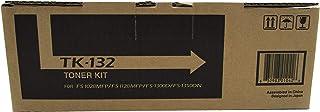 Kyocera TK-132 1T02HS0US0 FS-1300D FS-1350DN FS-1028MFP FS-1128MFP Laser Toner Cartridge (Black) in Retail Packaging