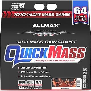 ALLMAX QuickMass - Weight Gainer & Rapid Mass Gain Catalyst - 12 Pound